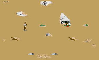 Pantallazo del juego online Bermuda Project (Atari ST)