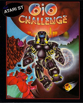 Carátula del juego Bio Challenge (Atari ST)