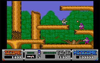 Pantallazo del juego online Bionic Commando (Atari ST)