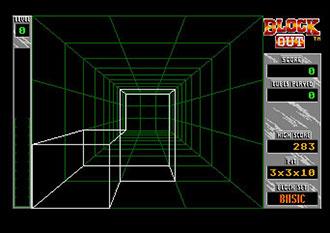 Pantallazo del juego online Block Out (Atari ST)