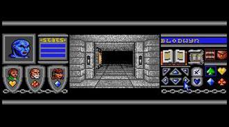 Pantallazo del juego online Bloodwych (Atari ST)