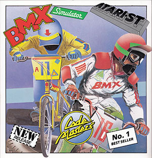 Carátula del juego BMX Simulator (Atari ST)