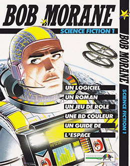 Carátula del juego Bob Morane Science Fiction 1 (Atari ST)
