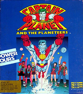 Juego online Captain Planet And The Planeteers (Atari ST)