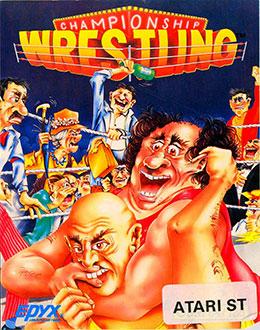 Carátula del juego Championship Wrestling (Atari ST)
