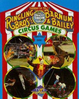 Carátula del juego Circus Games (Atari ST)