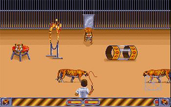 Pantallazo del juego online Circus Games (Atari ST)