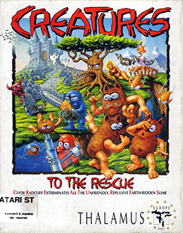Juego online Creatures (Atari ST)