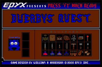 Juego online Dweaby's Quest (Atari ST)