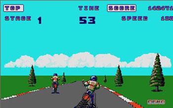 Pantallazo del juego online Enduro Racer (Atari ST)