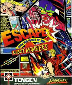Portada de la descarga de Escape from the Planet of the Robot Monsters