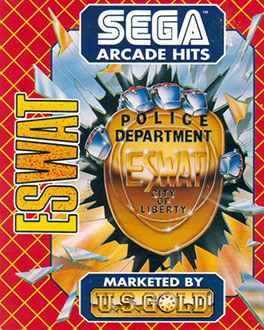 Portada de la descarga de E-SWAT: Cyber Police
