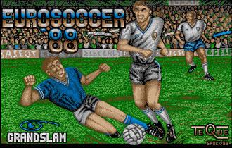 Juego online EuroSoccer '88 (Atari ST)