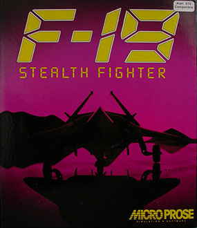 Juego online F-19 Stealth Fighter (Atari ST)