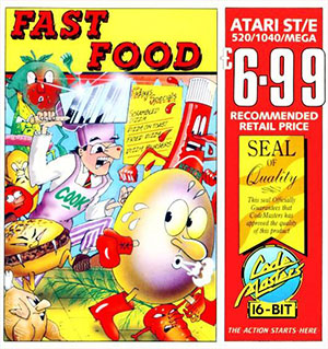 Portada de la descarga de Fast Food