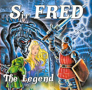 Portada de la descarga de Sir Fred: The Legend