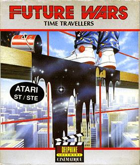 Portada de la descarga de Future Wars: Time Travellers