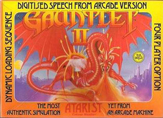Portada de la descarga de Gauntlet II