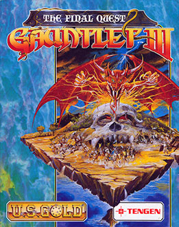 Portada de la descarga de Gauntlet III: The Final Quest
