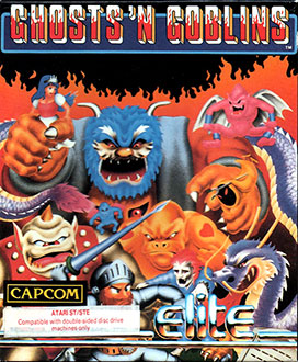 Juego online Ghosts 'n Goblins (Atari ST)