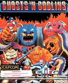 Carátula del juego Ghosts 'n Goblins (Atari ST)