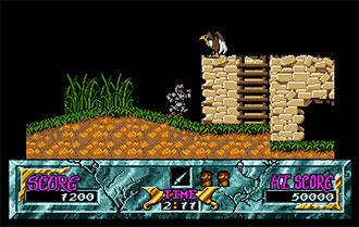 Pantallazo del juego online Ghouls 'n Ghosts (Atari ST)