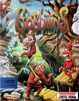 Carátula del juego Gobliiins (Atari ST)