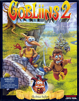 Carátula del juego Gobliins 2 The Prince Buffoon (Atari ST)