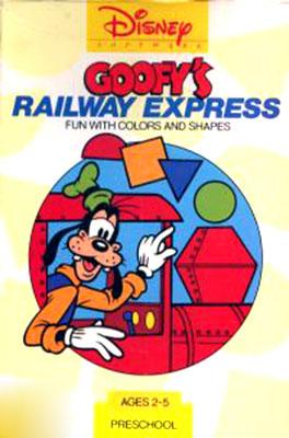 Portada de la descarga de Goofy's Railway Express