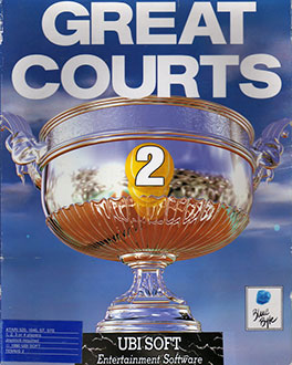 Juego online Great Courts 2 (Atari ST)
