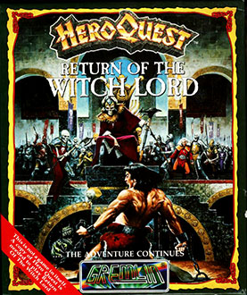 Juego online HeroQuest: Return of the Witch Lord (Atari ST)