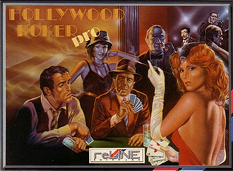 Juego online Hollywood Poker Pro (Atari ST)