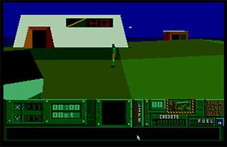 Pantallazo del juego online Hunter (Atari ST)