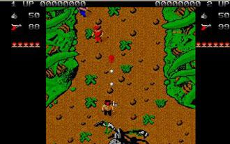 Pantallazo del juego online Ikari Warriors (Atari ST)