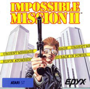 Juego online Impossible Mission II (Atari ST)