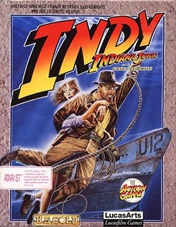 Portada de la descarga de Indiana Jones and The Fate of Atlantis: The Action Game
