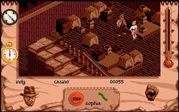 Imagen de la descarga de Indiana Jones and The Fate of Atlantis: The Action Game