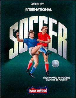 Carátula del juego International Soccer (Atari ST)