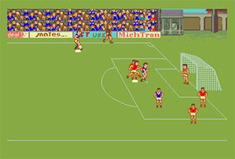 Pantallazo del juego online International Soccer (Atari ST)