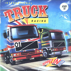 Juego online International Truck Racing (Atari ST)