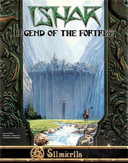 Carátula del juego Ishar Legend of the Fortress (Atari ST)