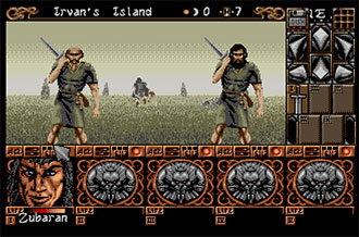 Pantallazo del juego online Ishar 2 Messengers of Doom (Atari ST)