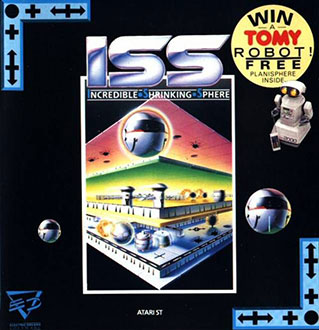 Carátula del juego ISS - Incredible Shrinking Sphere (Atari ST)
