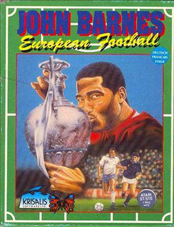 Portada de la descarga de John Barnes European Football