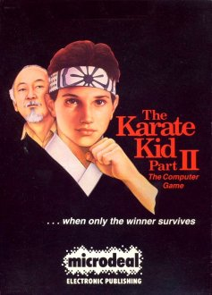 Carátula del juego The Karate Kid Part II (Atari ST)