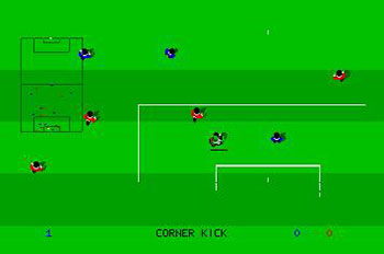 Pantallazo del juego online Kick Off (Atari ST)