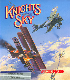 Juego online Knights of the Sky (Atari ST)