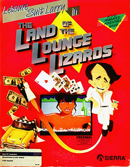 Portada de la descarga de Leisure Suit Larry in the Land of the Lounge Lizards