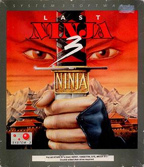Carátula del juego Last Ninja 3 (Atari ST)