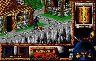 Pantallazo del juego online Last Ninja 3 (Atari ST)